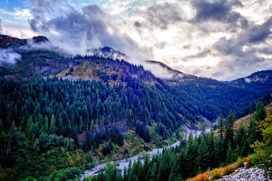 Summer Snow at Mt. Rainier