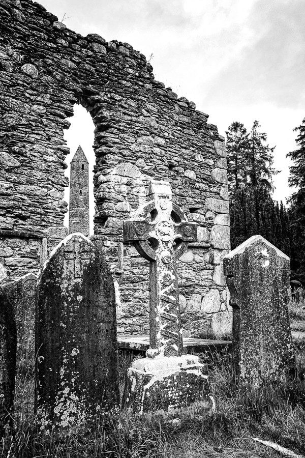 Walking With the Dead And Everyone Else At Glendalough