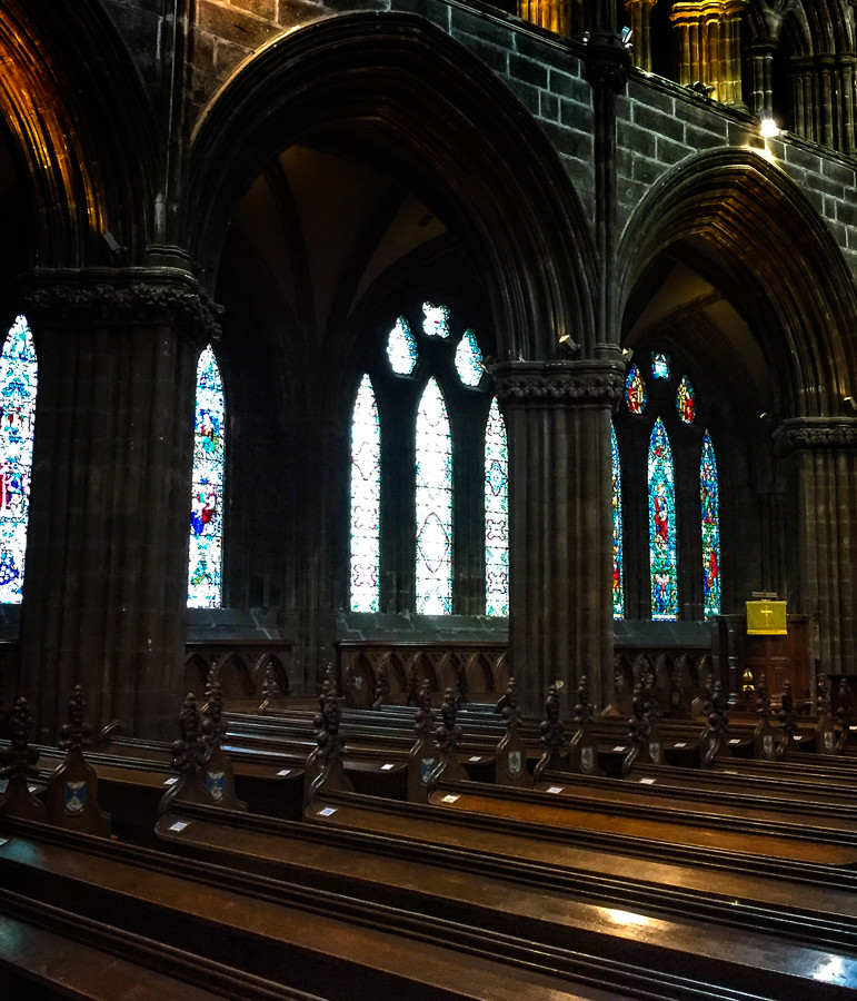 Stepping Into Another Dimension at Glasgow Cathedral